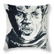 Werewolf Of London Throw Pillow