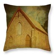 Wesley Church, Greenough, Western Australia Throw Pillow