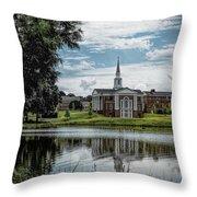 Wesleyan Chapel Throw Pillow