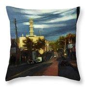 West Brighton - October Throw Pillow