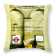 West Brompton Throw Pillow
