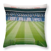 West Bromwich Albion - The Hawthorns - Brummie Road End 2 - August 2003 Throw Pillow