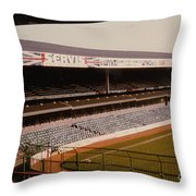 West Bromwich Albion - The Hawthorns - Rainbow Stand 1 - 1980s Throw Pillow