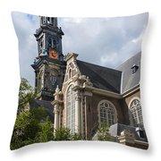West Church Westerkerk Throw Pillow