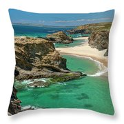 West Coast Portugal Throw Pillow