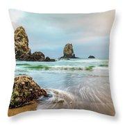 West Coast Usa Wonder Throw Pillow