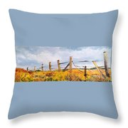 West Forty Throw Pillow