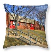 West Friendship Elementary School Throw Pillow