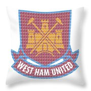 West Ham Throw Pillow