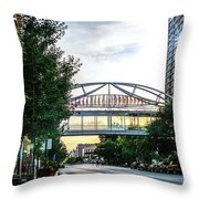 West On Main Throw Pillow