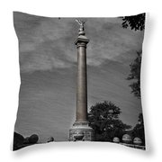 West Point Battle Monument Throw Pillow