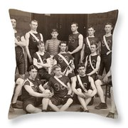 West Point: Track, 1896 Throw Pillow