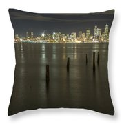 West Seattle Views Throw Pillow