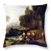 West: Telemachus Throw Pillow