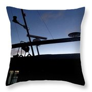 West To Sommerset Throw Pillow