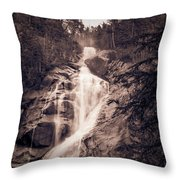 West Waterfall Throw Pillow