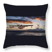 Westering Home Throw Pillow