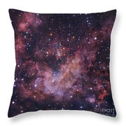 Westerlund 2 Star Cluster In Carina Throw Pillow