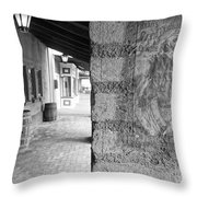 Western Alley 2 Throw Pillow