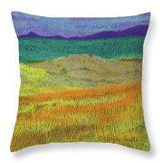 Western Edge Prairie Dream Throw Pillow