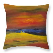 Western Horizon  Throw Pillow