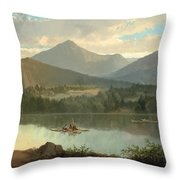 Western Landscape Throw Pillow by John Mix Stanley