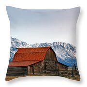 Western Living 2 Throw Pillow