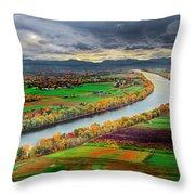Western Massachusetts Throw Pillow