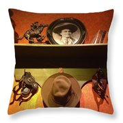 Western Tableau Throw Pillow