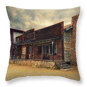 Western Town - Paramount Ranch Throw Pillow