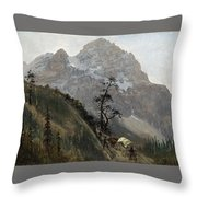 Western Trail Throw Pillow