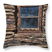 Western Window Throw Pillow