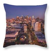 Westlake Los Angeles Aerial Throw Pillow