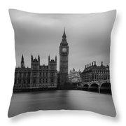 Westminster Bridge London Throw Pillow
