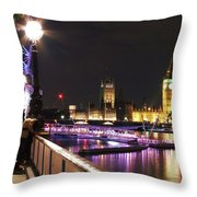 Westminster Embrace Throw Pillow