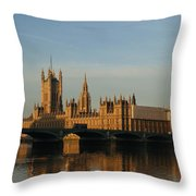 Westminster Morning Throw Pillow