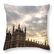 Westminster Palace Throw Pillow