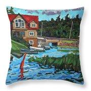 Westport Grist Mill Throw Pillow