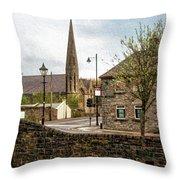 Westport Town Throw Pillow