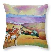 Westriver Pronghorn Throw Pillow