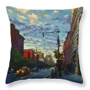 Westside Sunset No. 4 Throw Pillow