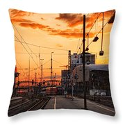 Westward Throw Pillow