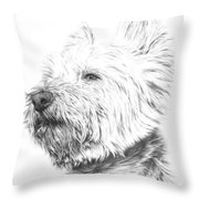 Westy Throw Pillow