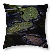 Wet Throw Pillow