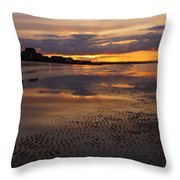 Wet Sand And Clouds 2 Throw Pillow