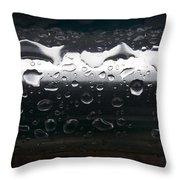 Wet Steel-1 Throw Pillow