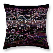 Wet Steel Funky Throw Pillow