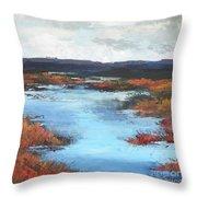 Wetlands Of Washington Throw Pillow