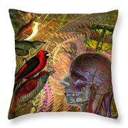 We've Notice A Change In You Throw Pillow