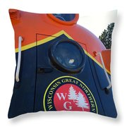 Wgn  423 #1 Throw Pillow
